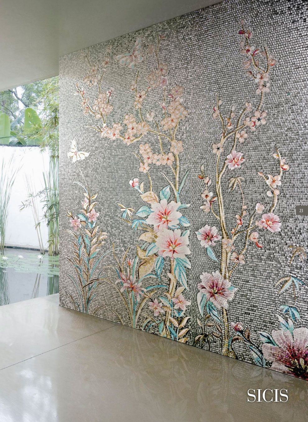 Feature Shower Wall Tile Ideas