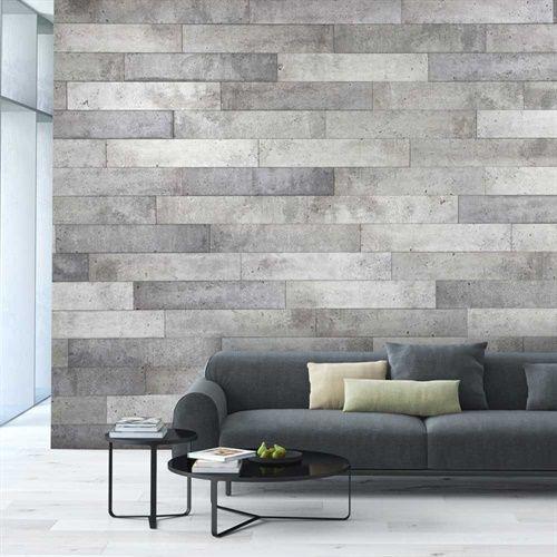 Revêtement mural décoratif \u003cbr /\u003eDuo Béton - 8340046 Brick designs - peinture epaisse pour mur