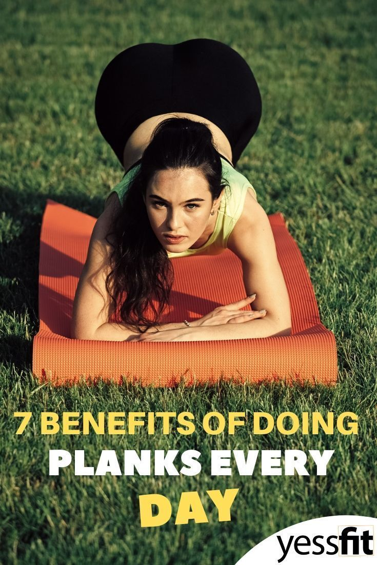 7 Vorteile, wenn man jeden Tag Planken macht #Planke #Arbeit #Fitness, #Arbeit #Fitness #jeden #mach...