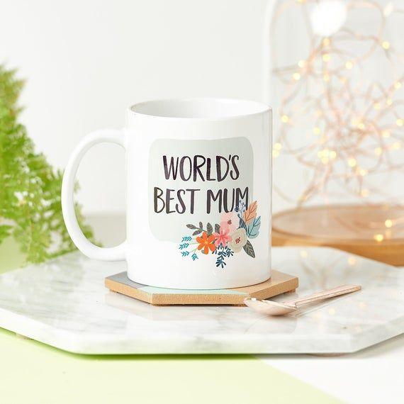 The World's Best Mum/Mummy Mug