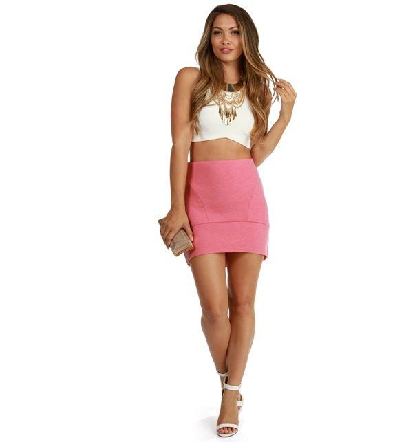 Pink Pretty Girl Mini Skirt | New Arrivals! | Pinterest | Pink ...