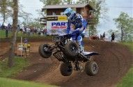 Chad Wienen leads John Natalie by a narrow margin for the AMA Pro ATVMX championship