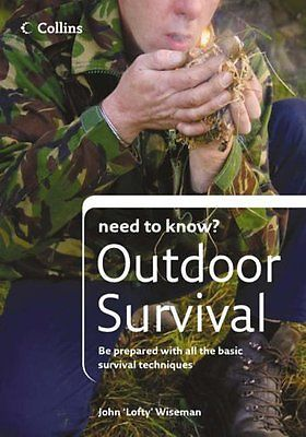 Outdoor survival #(collins need to know?), wiseman, john #'lofty' #paperback book,  View more on the LINK: http://www.zeppy.io/product/gb/2/301997967130/
