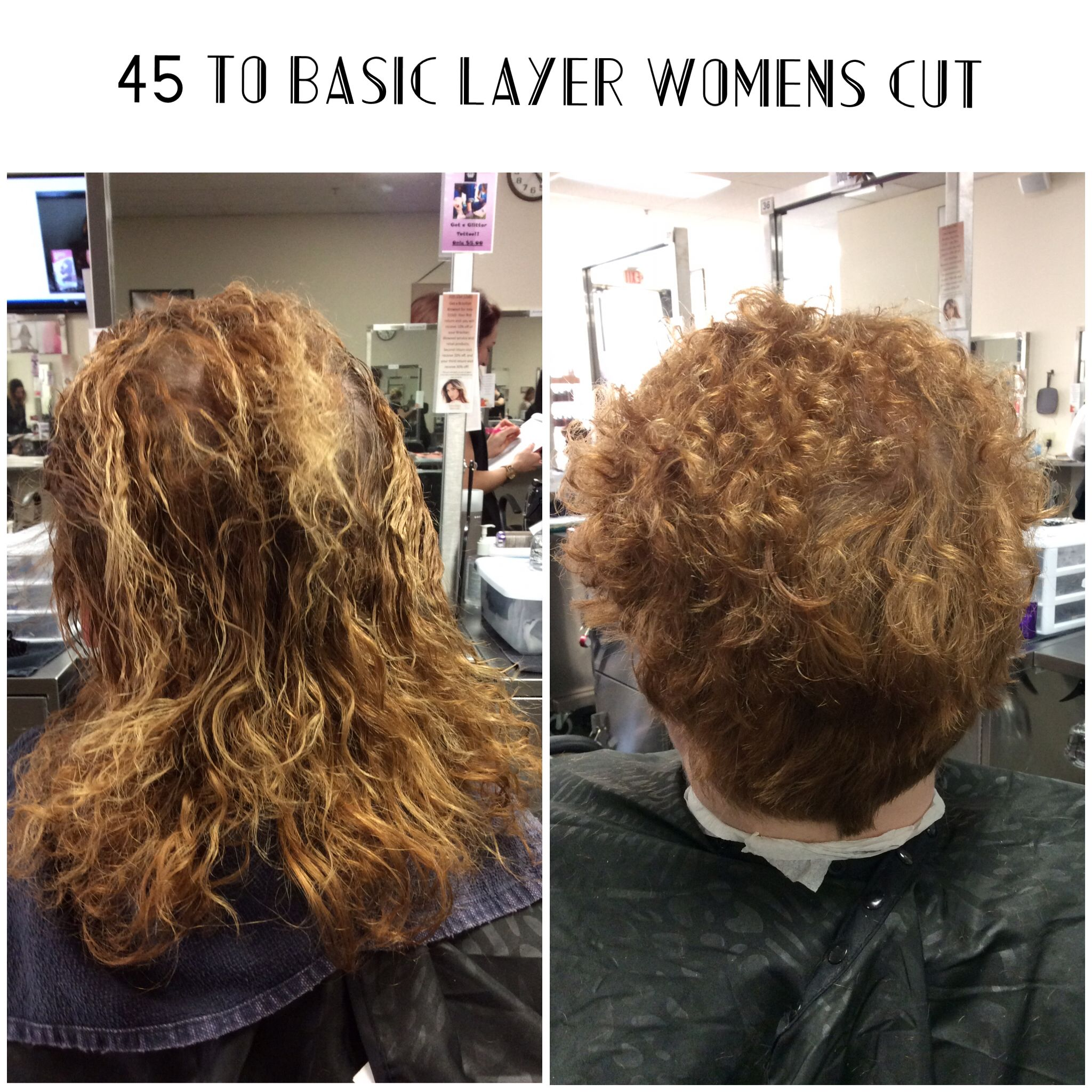 Severely over processed perm and damaged hair, came in for haircut ...
