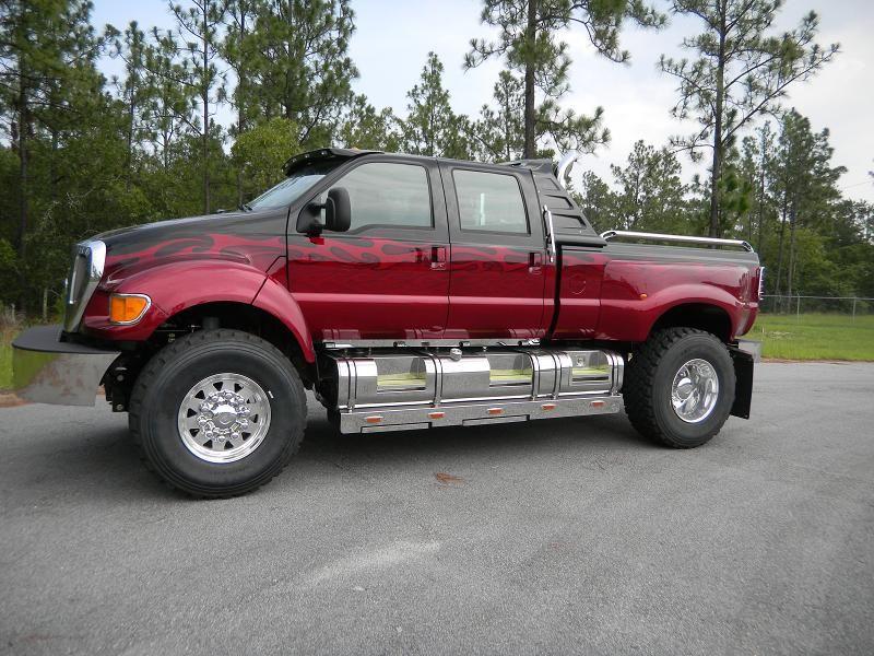 Ford F650 Jacked Up Trucks Ford Trucks Pickup Trucks