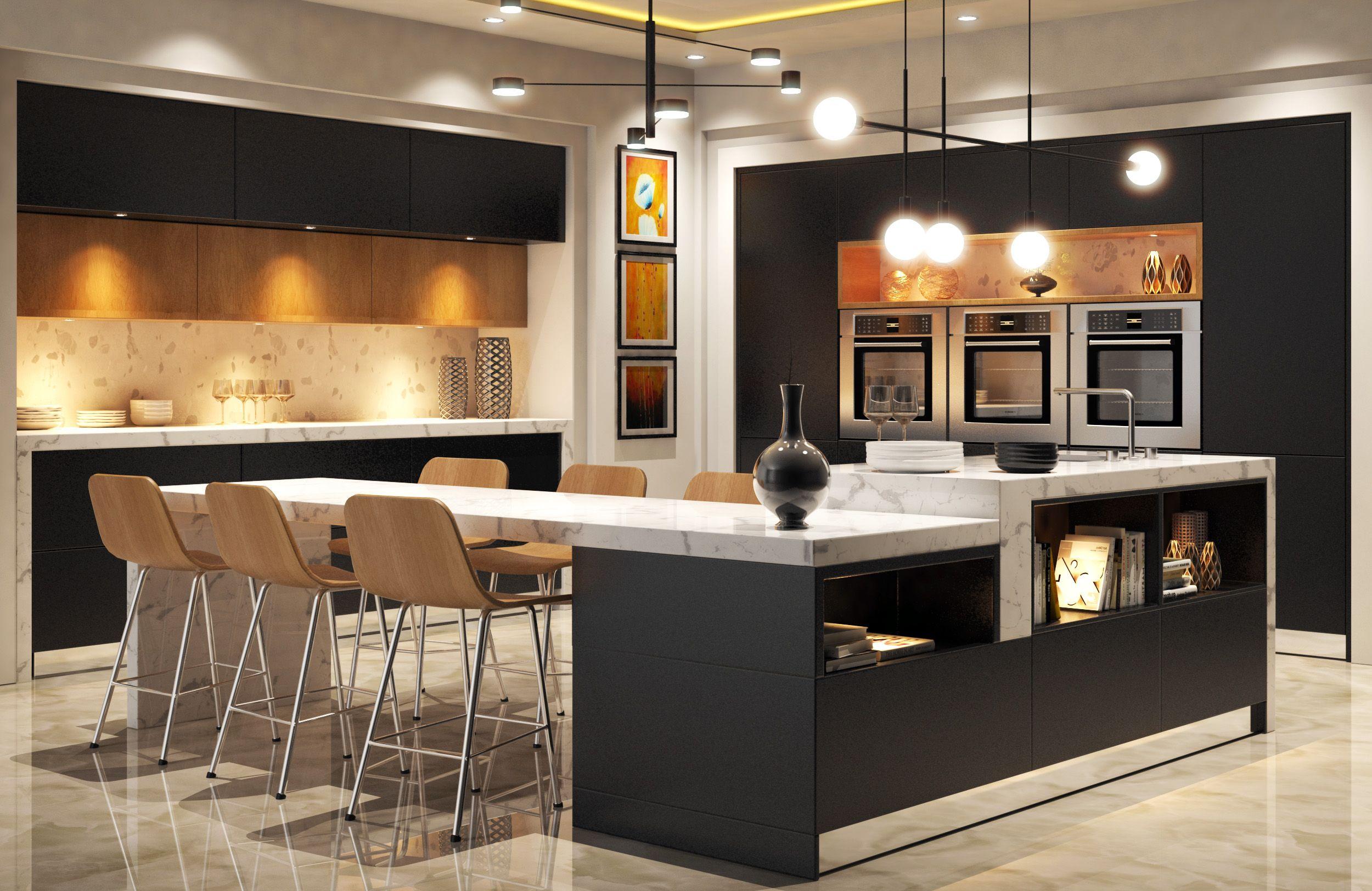 Modern Kitchen 7D Model- a model of a Modern Kitchen model