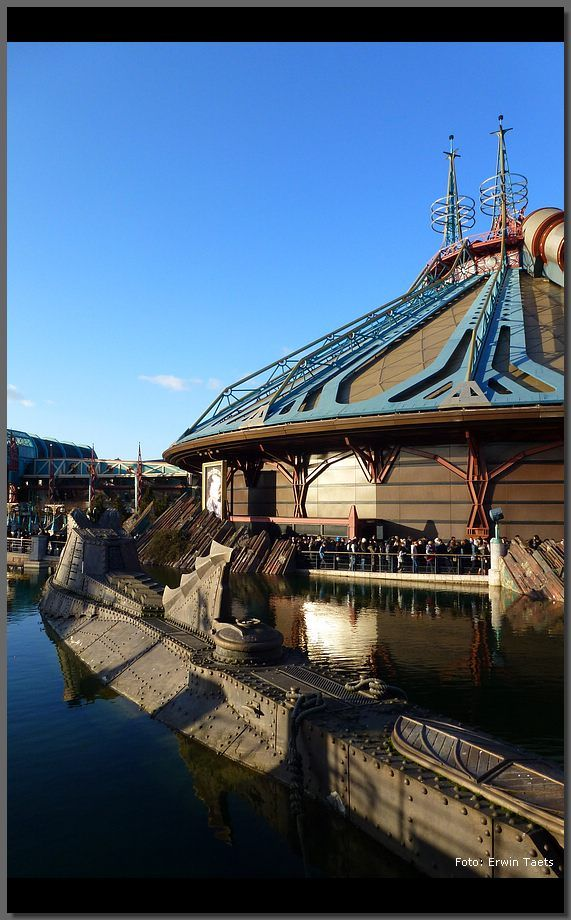 Space Mountain Mission 2 and Nautilus