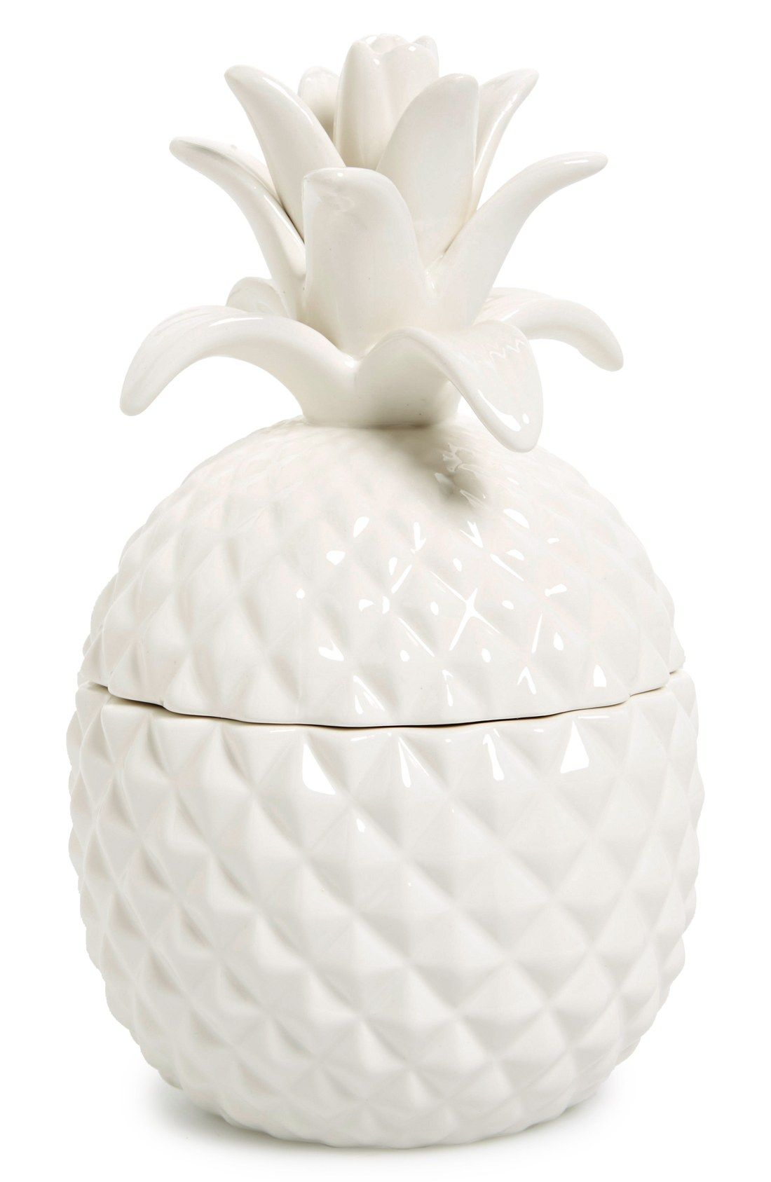 Ceramic Cookie Jar Sets This Ceramic Pineapple Jar Is Perfect For Storing Cookies