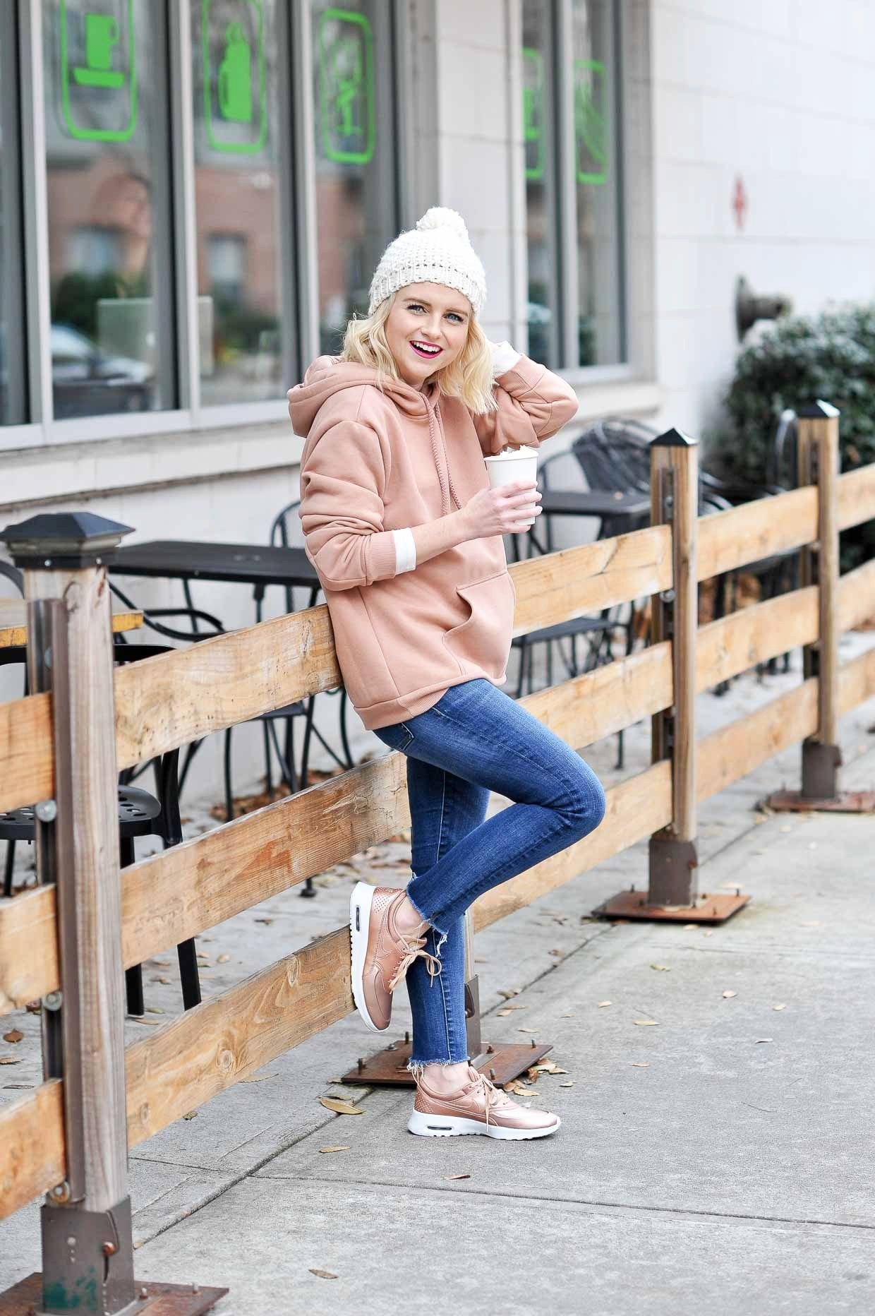 How To Style Rose Gold Sneakers | Gold sneakers, Rose gold