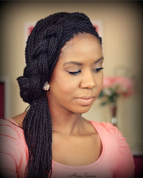 Outstanding 50 Thrilling Twist Braid Styles To Try This Season Seasons The Short Hairstyles For Black Women Fulllsitofus