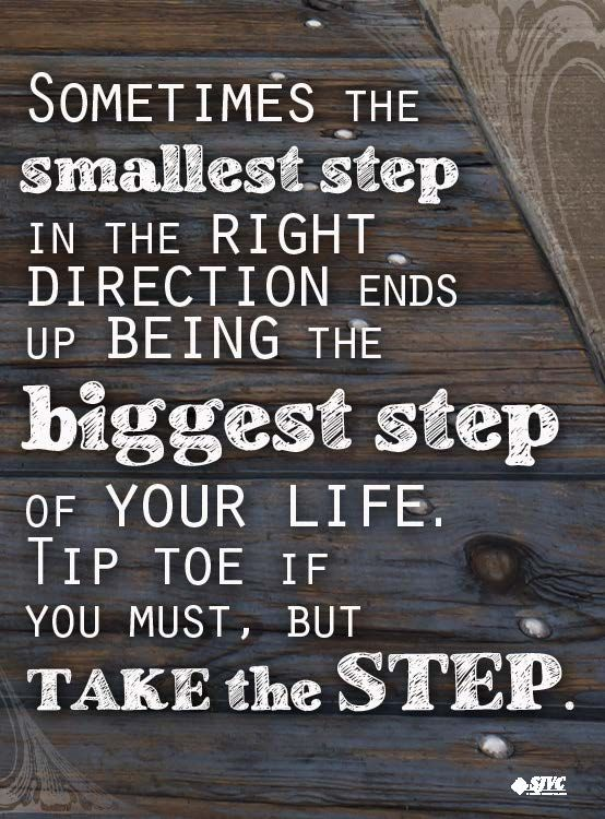 Next Steps: What Is Your Next Step? #quotes #motivation #sjvc