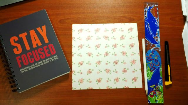 Make Your Own Notebook Separator