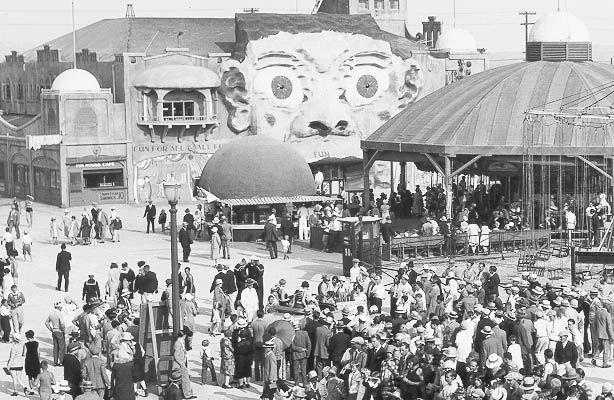 Belmont Park Mission Beach Amusement Park Carousel