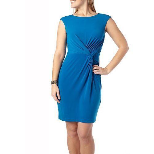 London Times Petite Knot Front Dress AEGEAN BLUE 10 Petite  London Times , http://www.amazon.com/dp/B007JVFKS0/ref=cm_sw_r_pi_dp_NjnFpb0K0WHEF