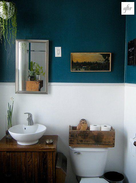 a little bit minimalist, a little bit retro | Badezimmer ...