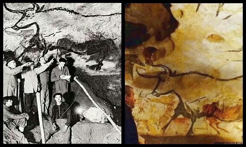 Lascaux Cave, in SW France