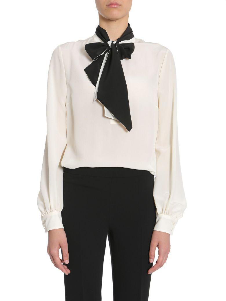 Mandarin collar flannel  LANVIN Silk Cr lanvin cloth   Lanvin  Pinterest  Silk and