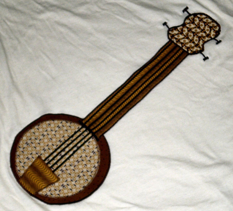 awesome banjo applique!!