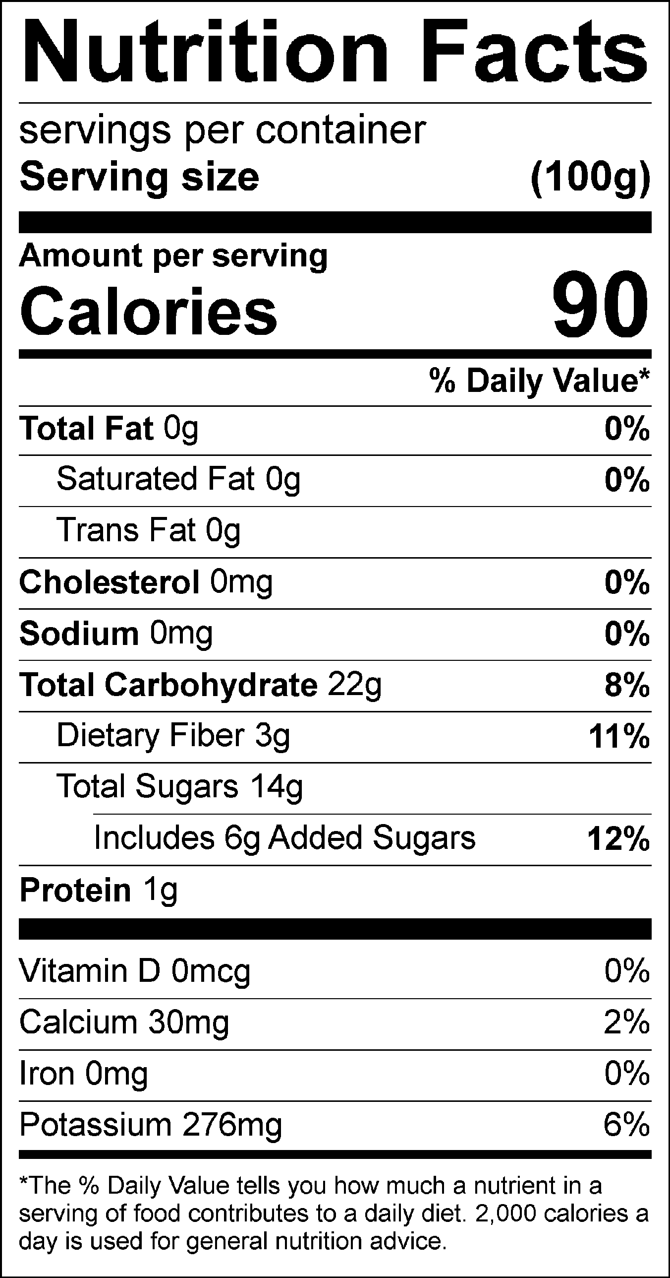 Kiwi Puree Pastry Star Nutrition Facts Nutrition Sugar Free Syrup
