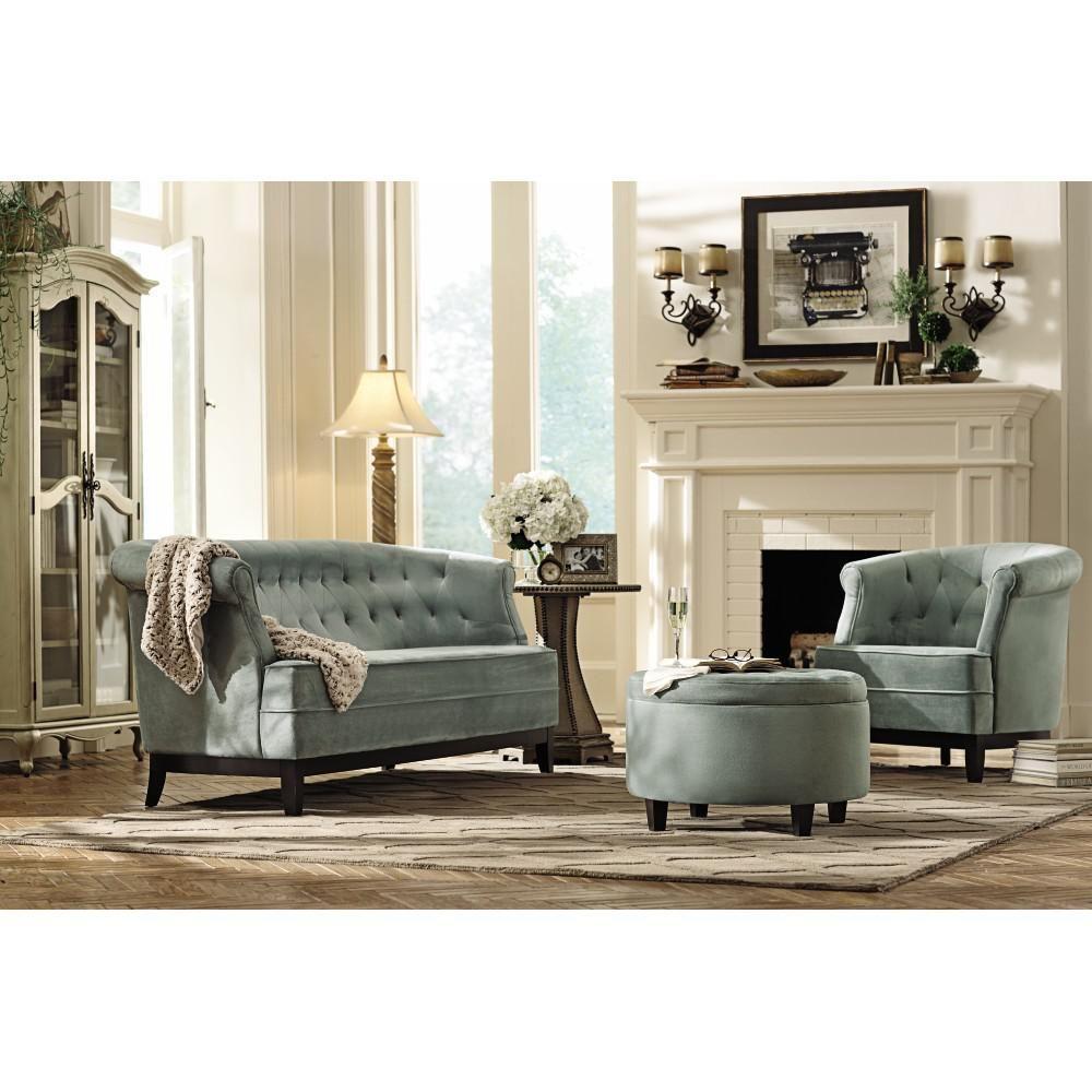 Emma Sea Green Velvet Sofa For The Home Green Velvet Sofa