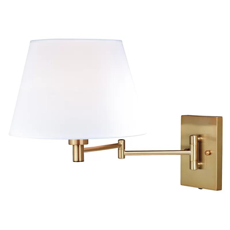Hindsville 1 Light Swing Arm Lamp In 2020 Swing Arm Wall Lamps Swing Arm Wall Light Wall Lights
