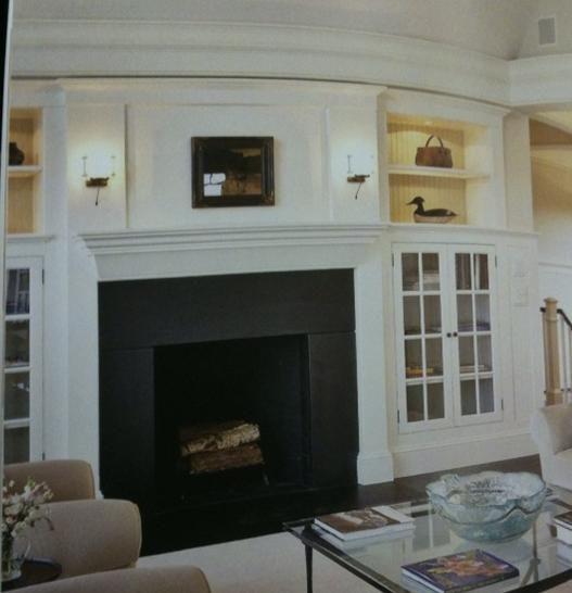 built ins around fireplace   Built-ins around fireplace ...