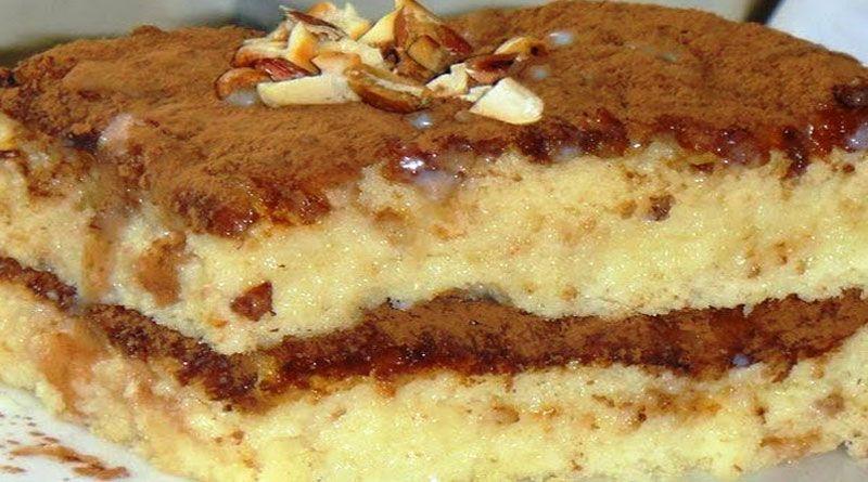Торт бисквитный со сгущенкой рецепт пошагово в домашних условиях 129