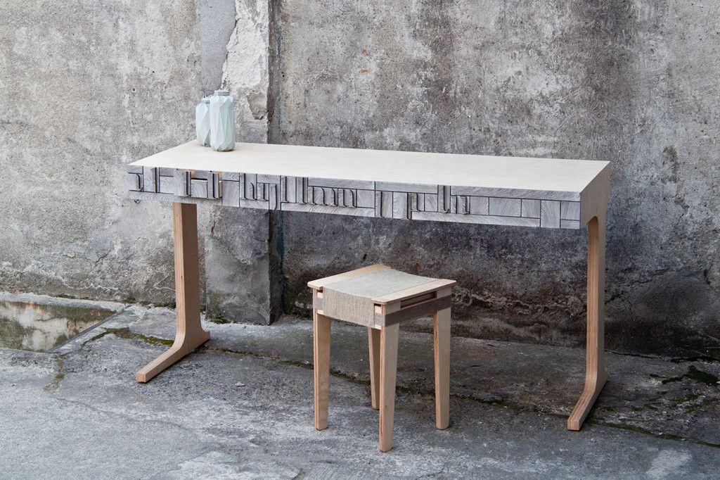 Newspaperwood la carta trasformata in legno product design