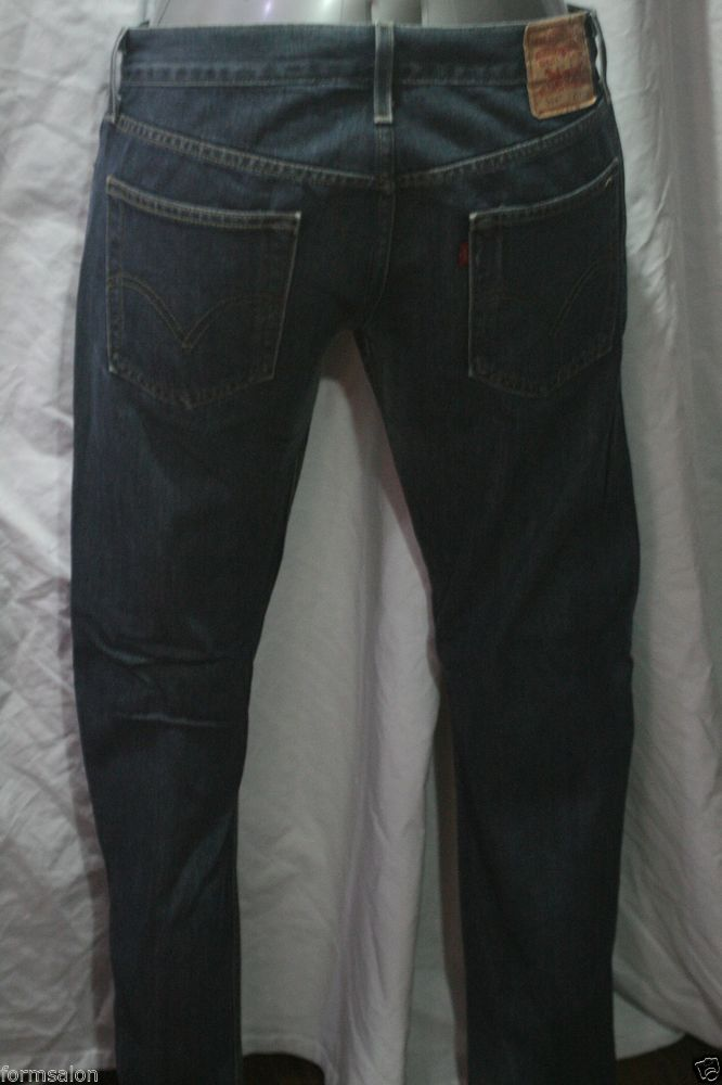 "MEN/'S SHORT LEG SLIM FIT CASUAL BLACK DENIM FASHION JEANS SIZE W34/"" L29/"""