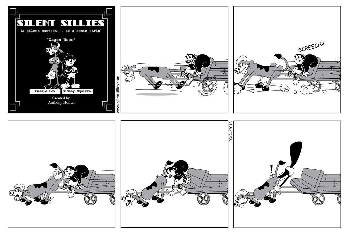 Silent Sillies: Wagon Woes