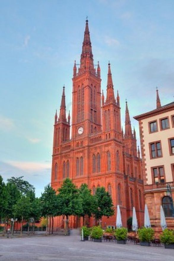 Marktkirche - Market Church) is the main Protestant church in Wiesbaden, Germany