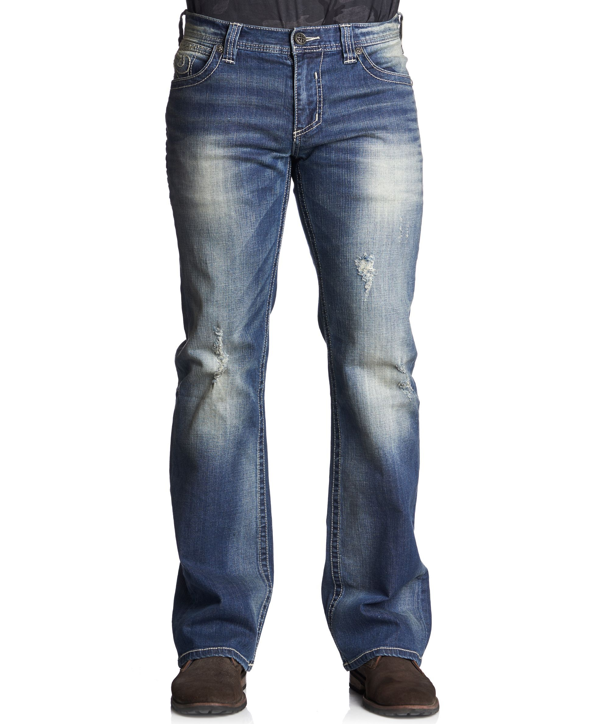 Affliction Cooper Relaxed Bootcut Jeans