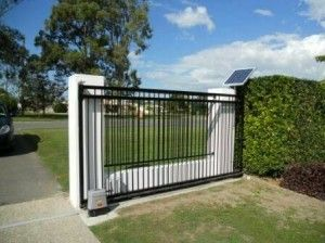 The Right Automatic Gate Openers For Your Automated Gates Automatic Gate Gate Openers Farm Gates Entrance