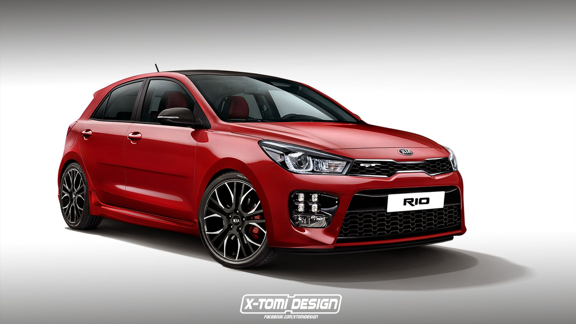 2018 Kia Rio GT. Not sure whether or not this will make