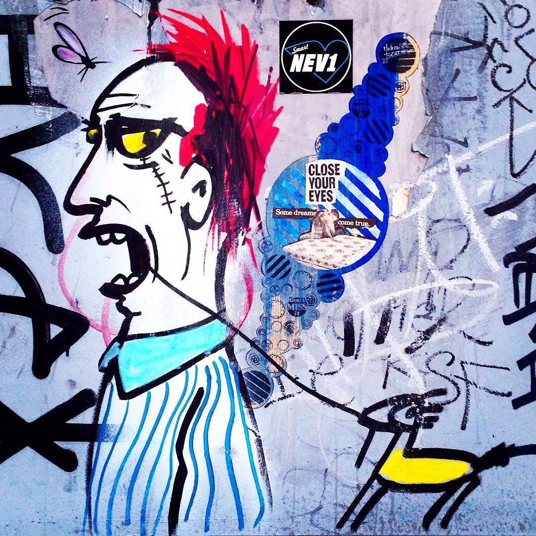"toris64: ""Toothache... By @artistrash in #Williamsburg #Brooklyn #NewYork #Streetart #ArtIsTrash #FranciscoDePájaro #StreetartNewYork #NewYorkStreetart"""