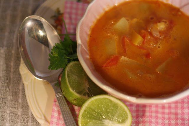 Krydret Grøntsagssuppe