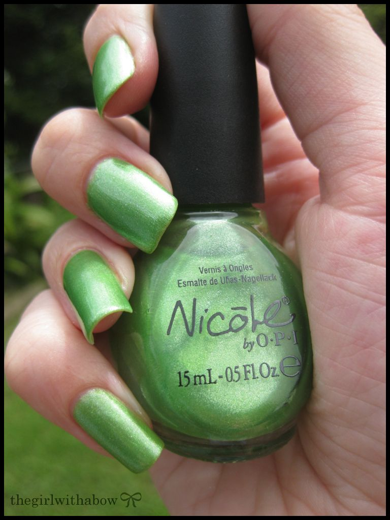 Nicole by OPI - Make Mine Lime | My Personal Collection | Pinterest