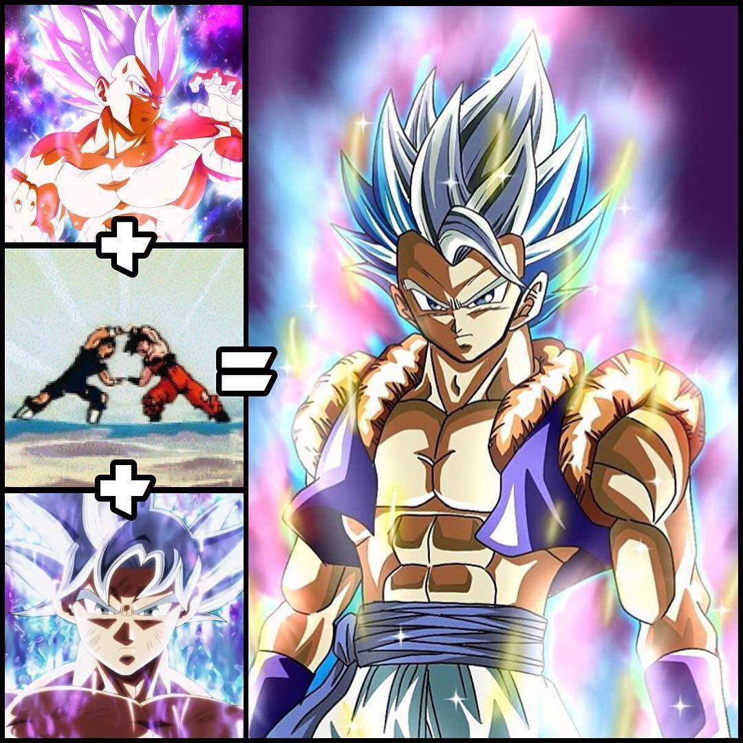 Name That Fusion Plz Dragonballart Dragonball Dragonbalgt Gokussjblue Gokussjblue Anime Dragon Ball Super Anime Dragon Ball Dragon Ball Wallpapers