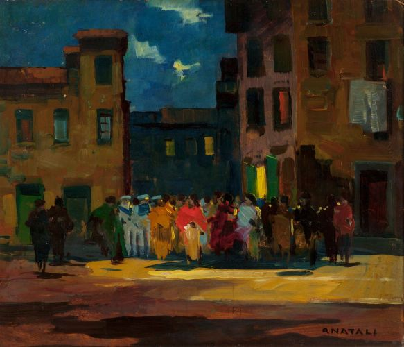 RENATO NATALI (Italian, 1883-1983 (con imágenes) | Pinturas, Arte ...