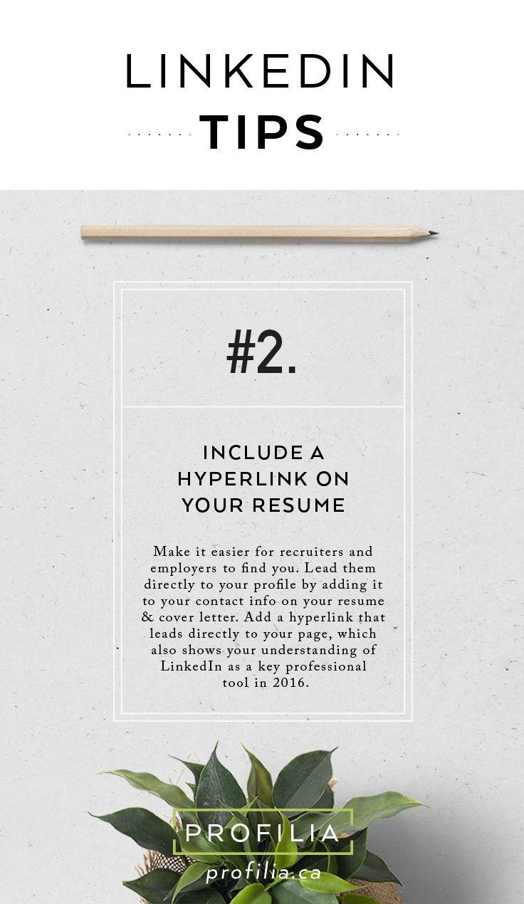 How To Show Linkedin Url On Resume Ideas
