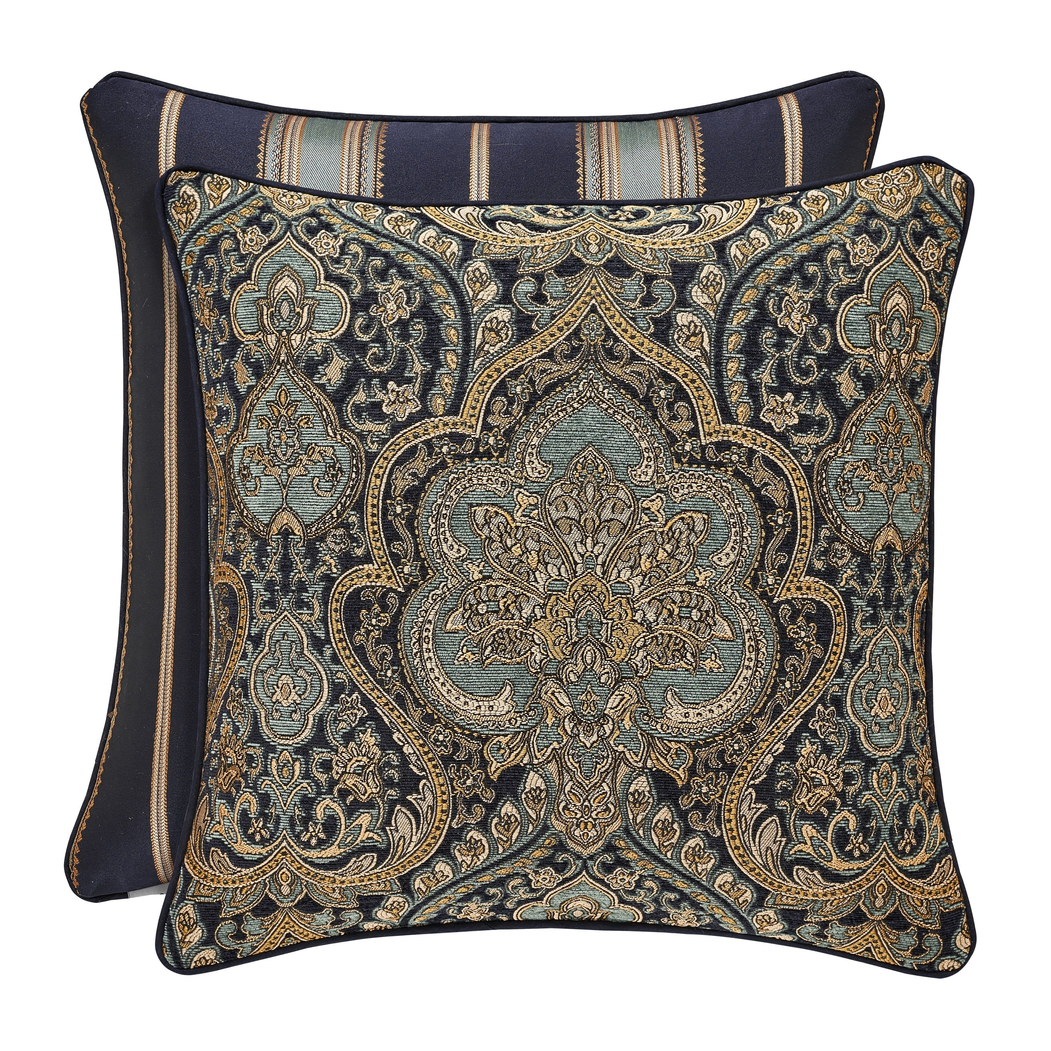 Five Queens Court Palmer 20 Inch Square Pillow Pillows