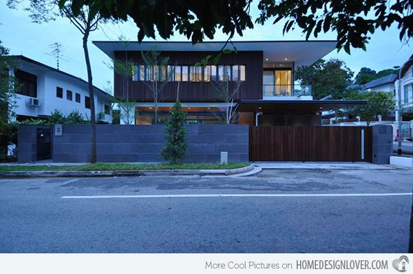 Modern Modern Architectural Fence Singapore