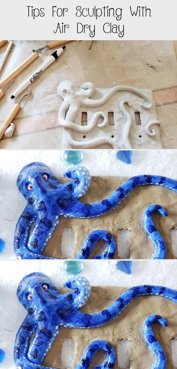 Tips For Sculpting With Air Dry Clay Air dry clay, Clay