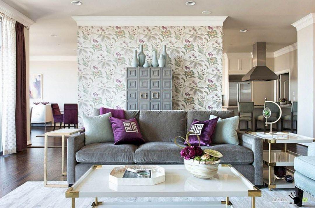 25 Elegant Living Room Wallpaper Design For Amazing Home Decoration Elegant Living Room Wallpaper Best Living Room Wallpaper Elegant Living Room