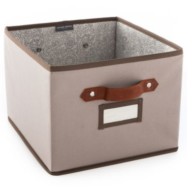 Michael Graves Design Large Collapsible Storage Bin Found At