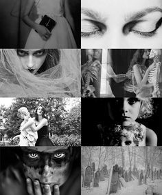 """Melinoe (Μελινοε, """"Dark Thought"""", from melas, black, and noe, mind) was the ancient Greek Goddess of Propitiation-Offerings made to the deceased. She wandered the earth every night with a train of ghosts, scaring anyone in their path. This was said to be the reason that dogs would bark at seemingly nothing at night. She was said to be the daughter of Zeus, who took the guise of Hades and seduced Persephone by the river Styx."""