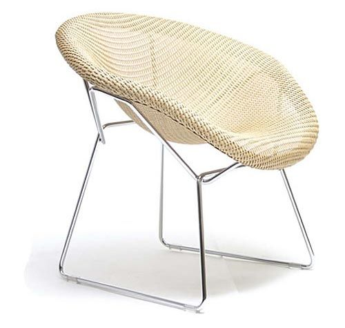 The Mono Chair Is A Wicker Side Chair In Beckham U0026 Issau0027s Lloyd Loom  Collection.