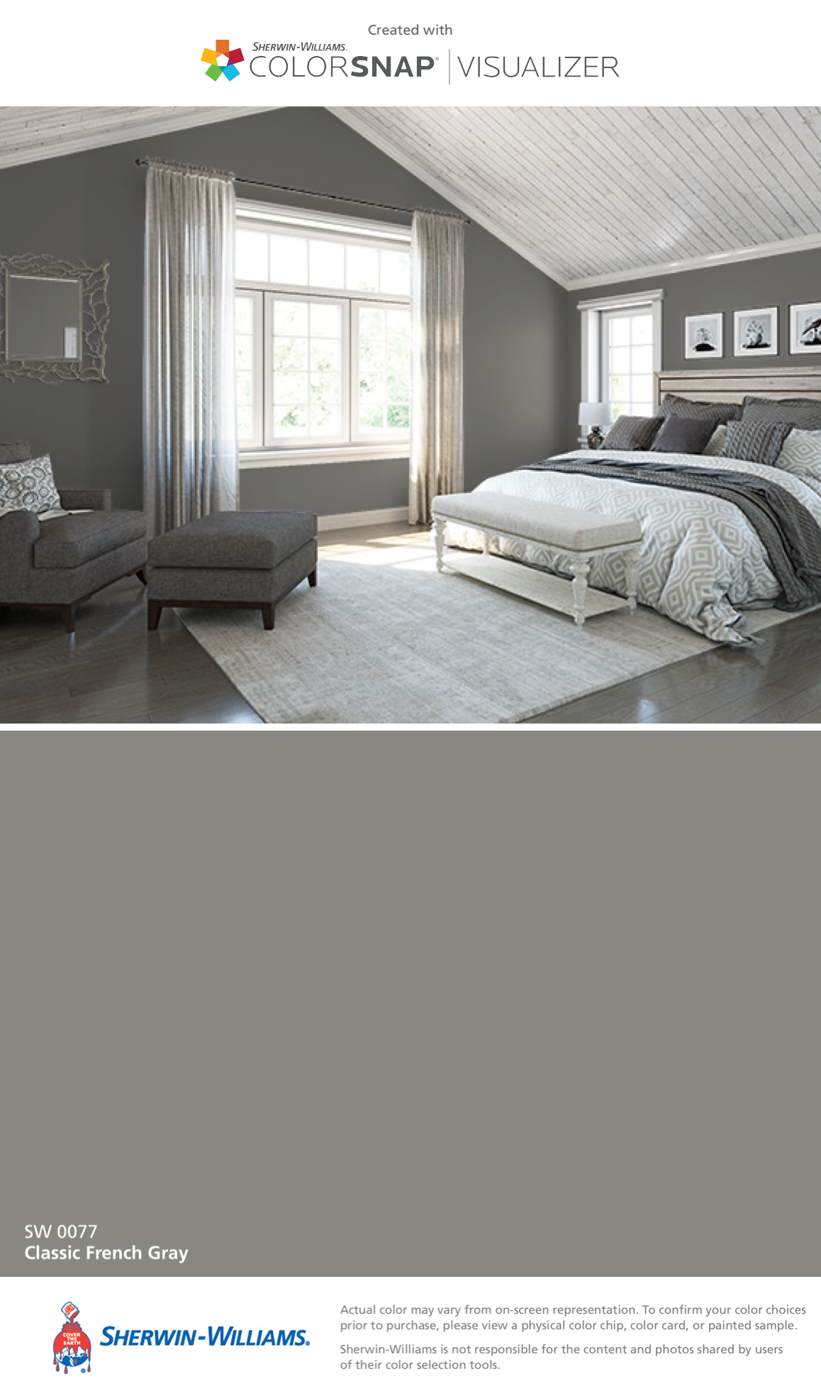 Ryleigh Classic French Gray Sw 0077 Home Decor In 2019 Room