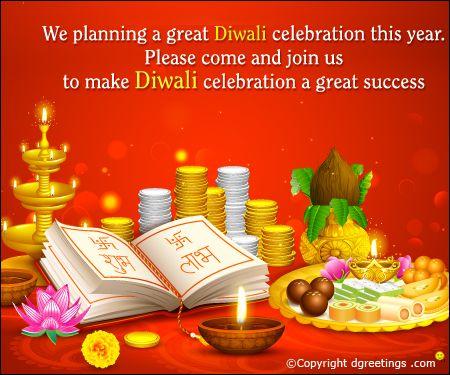 Diwali invitation card diwali cards pinterest diwali cards and diwali invitation card stopboris Gallery