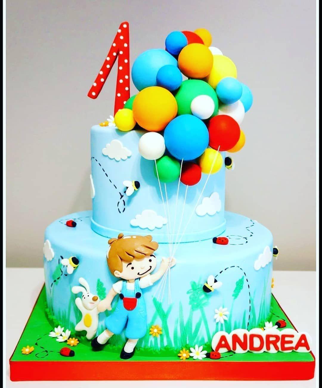 cake design x bambini ❤️ Adoro le torte per i bambini e questa di @dolcidimary_ per un